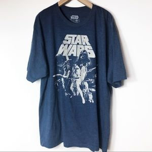 Star Wars | Blue Graphic Tee